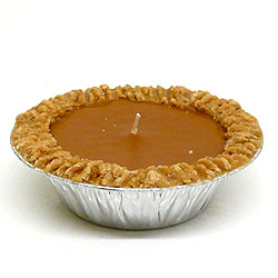 Pumpkin Pie Candles 5 Inch