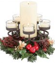 Pillar Candle and Tea Light Stand Traditions