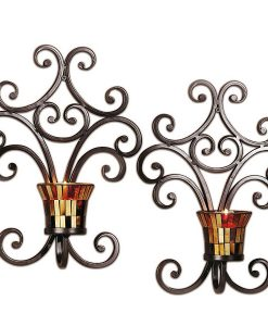 Set of 2 Truffle Wall Sconces