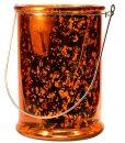 Reflections Orange Glass Lanten Large