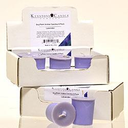Soy Votives Lavender 6 Pack