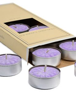 Lemon and Lavender Tea Lights