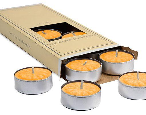 Creamsicle Tea Lights