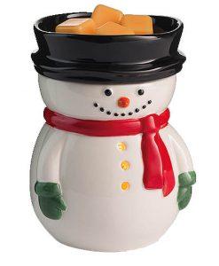 frosty snowman tart burner